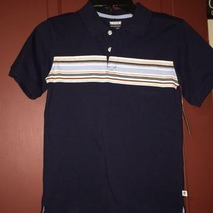NWT toughskins polo boys size 7